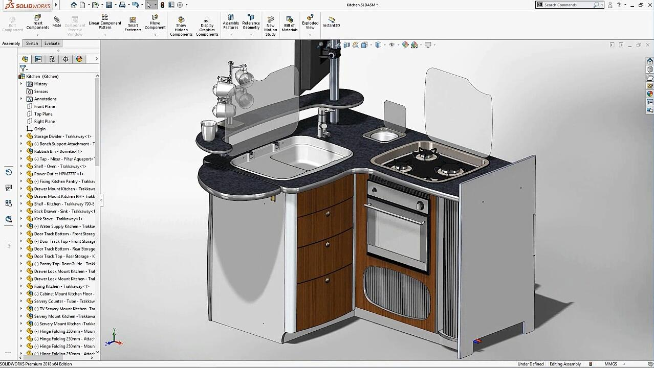 SOLIDWORKS-Touch Mode - What's New 2018