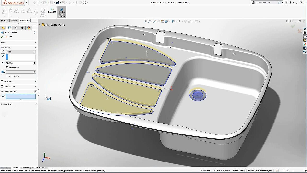 SOLIDWORKS-Touch Sketching - What's New 2018